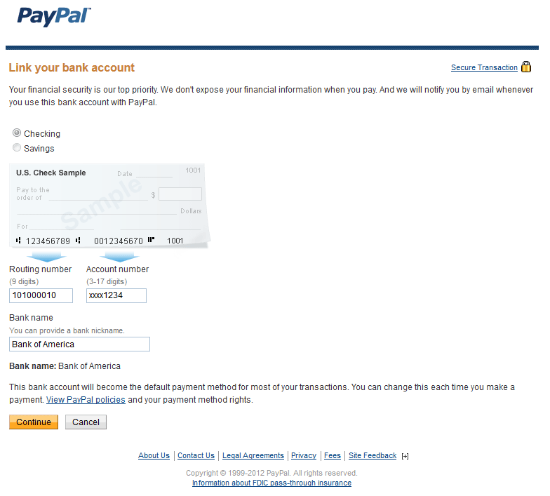 how to join paypal account
