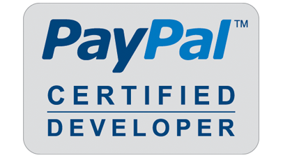 PayPal Certified Developer Logo Featured