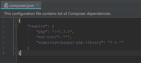 AngellEYE PayPal PHP SDK Composer Install