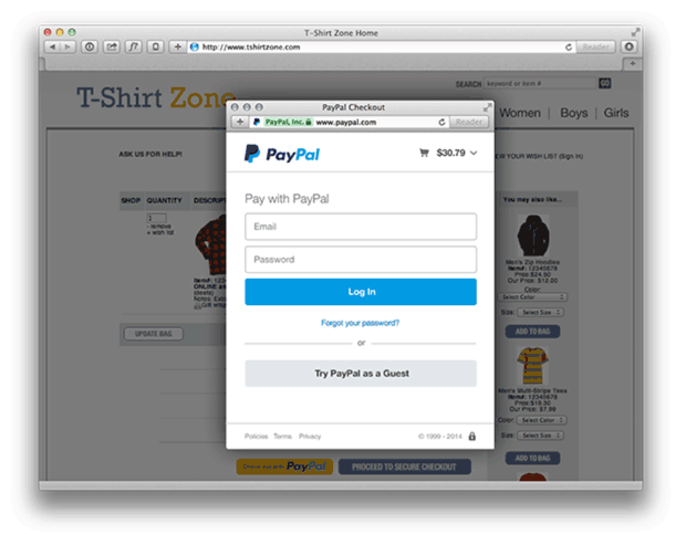 WooCommerce PayPal Express Checkout In Context