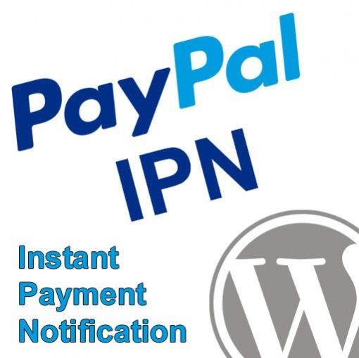 PayPal IPN WordPress Plugin