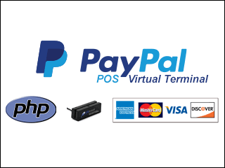 PayPal POS Credit Card Payment Virtual Terminal