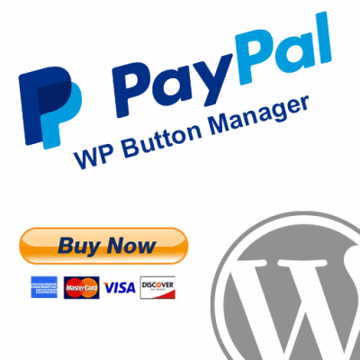 WordPress PayPal Button Manager