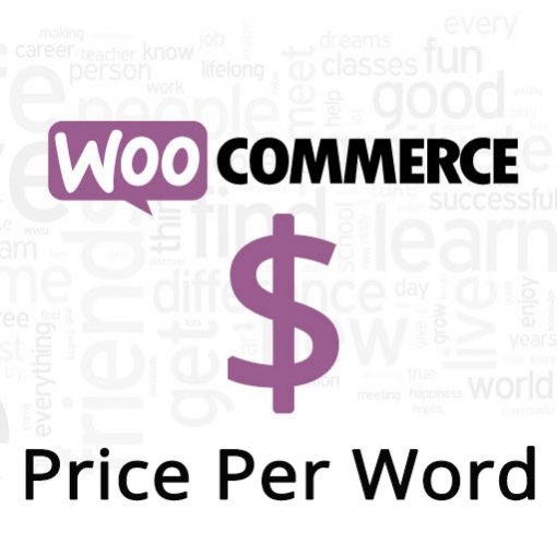 WooCommerce Price Per Word