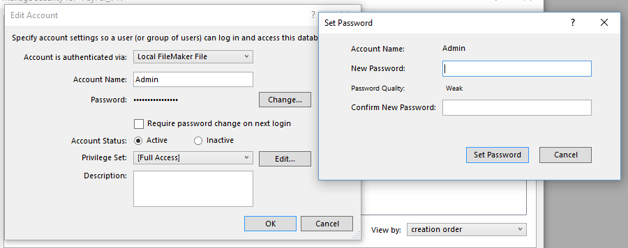 PayPal IPN FileMaker Change Password
