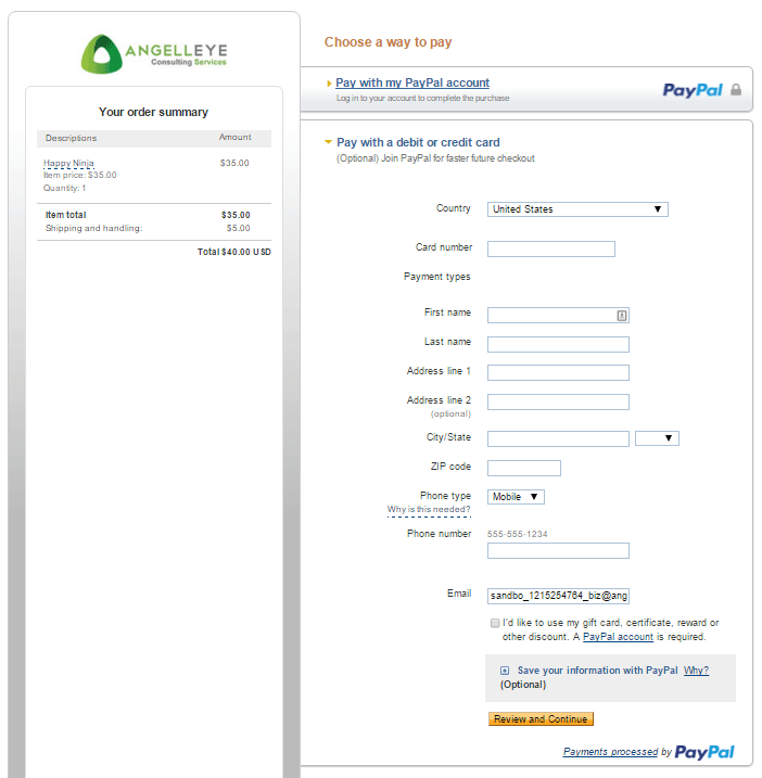 Advantages of PayPal Express Checkout - Guest Checkout