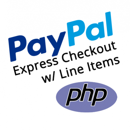 PayPal Express Checkout PHP Line Items Demo Project