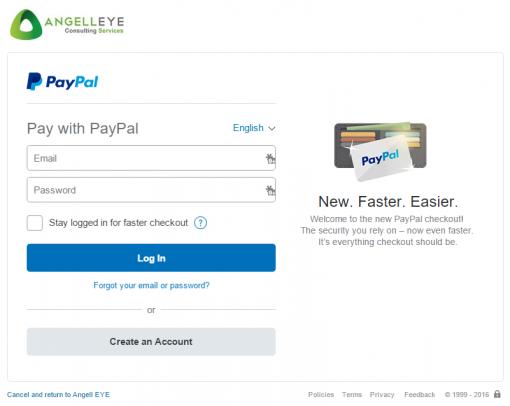 PayPal Express Checkout PHP PayPal Login