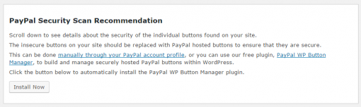 PayPal Security Recommendations Report