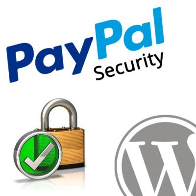 PayPal Security Scanner WordPress