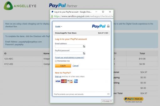 CodeIgniter PayPal Integration Digital Goods Login