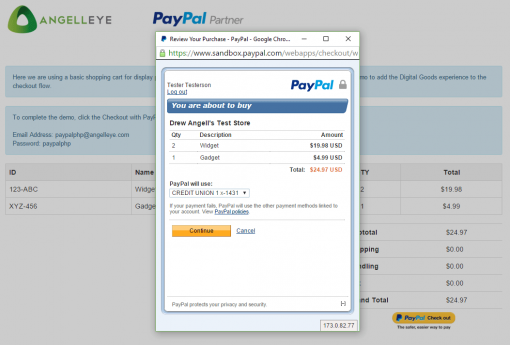 CodeIgniter PayPal Integration Express Checkout Digital Goods Review