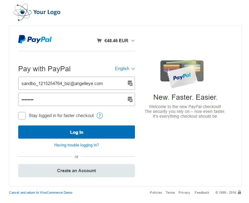 PayPal Plus for WooCommerce - Angell EYE