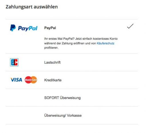 WooCommerce PayPal Plus Payment Options
