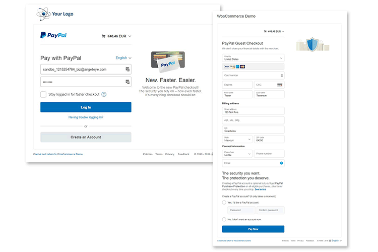 PayPal Plus WooCommerce Seamless Integration
