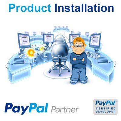 PayPal Product Installation