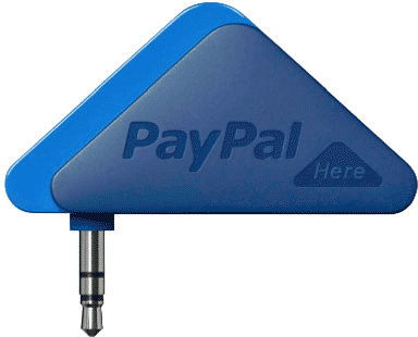PayPal Here Triangle Credit Card Reader