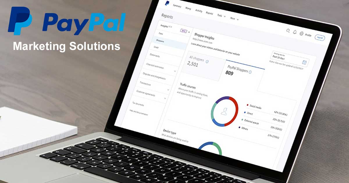 PayPal Marketing Solutions - Insights and Promotions - AngellEYE