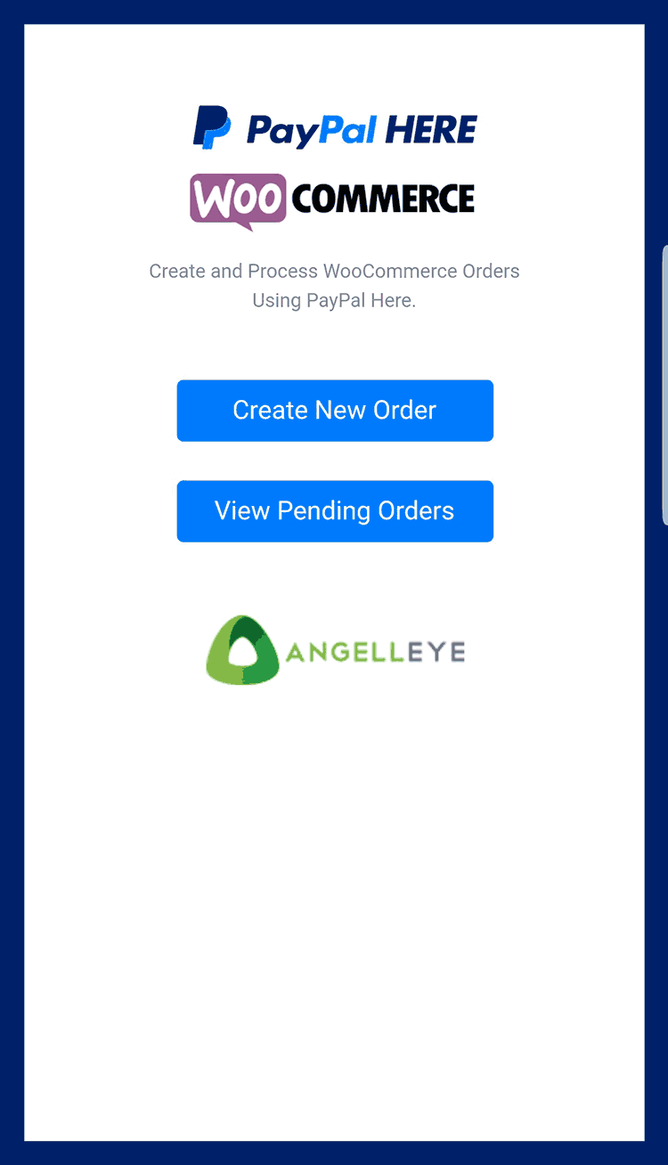 PayPal Here WooCommerce POS Plugin - AngellEYE