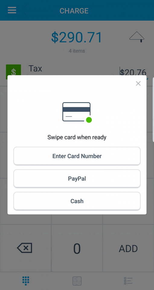 PayPal Here WooCommerce POS Payment Methods