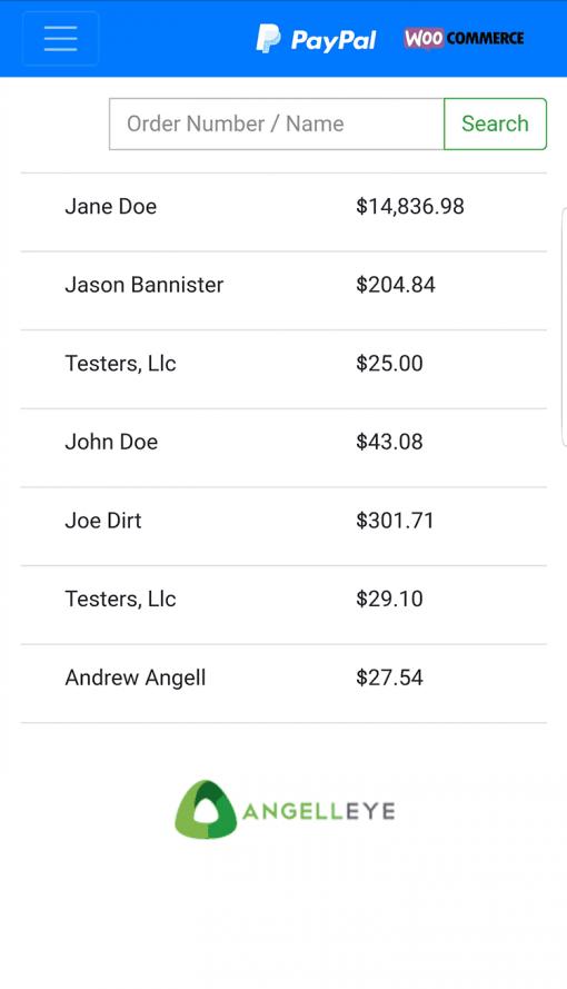 PayPal Here WooCommerce POS Pending Orders