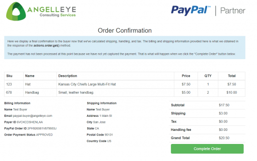 PayPal Checkout PHP REST Orders v2 Demo Kit Review Final