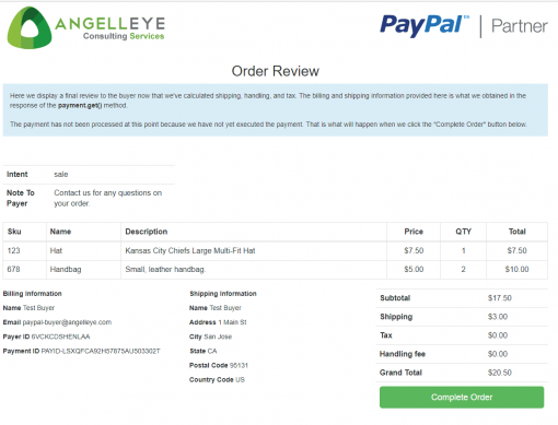 PayPal Checkout PHP REST Payments API v1 Demo Kit Review