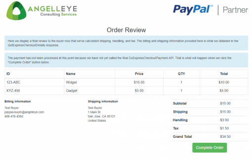 PayPal Express Checkout Parallel Payments Review