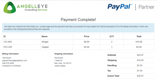 PayPal Express Checkout PHP In Context Demo Kit Complete