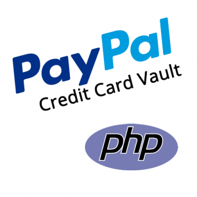 PayPal Save Credit Card Vault PHP Demo Kit