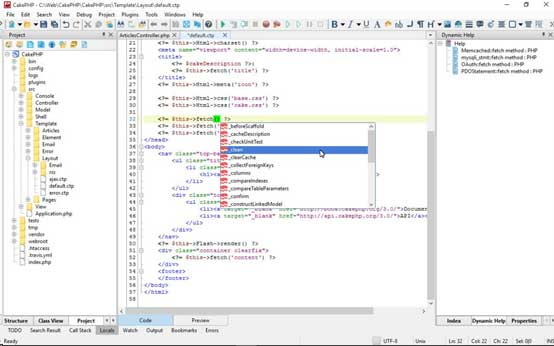 CodeLobster - Free WEB Editor and IDE for PHP, HTML, CSS