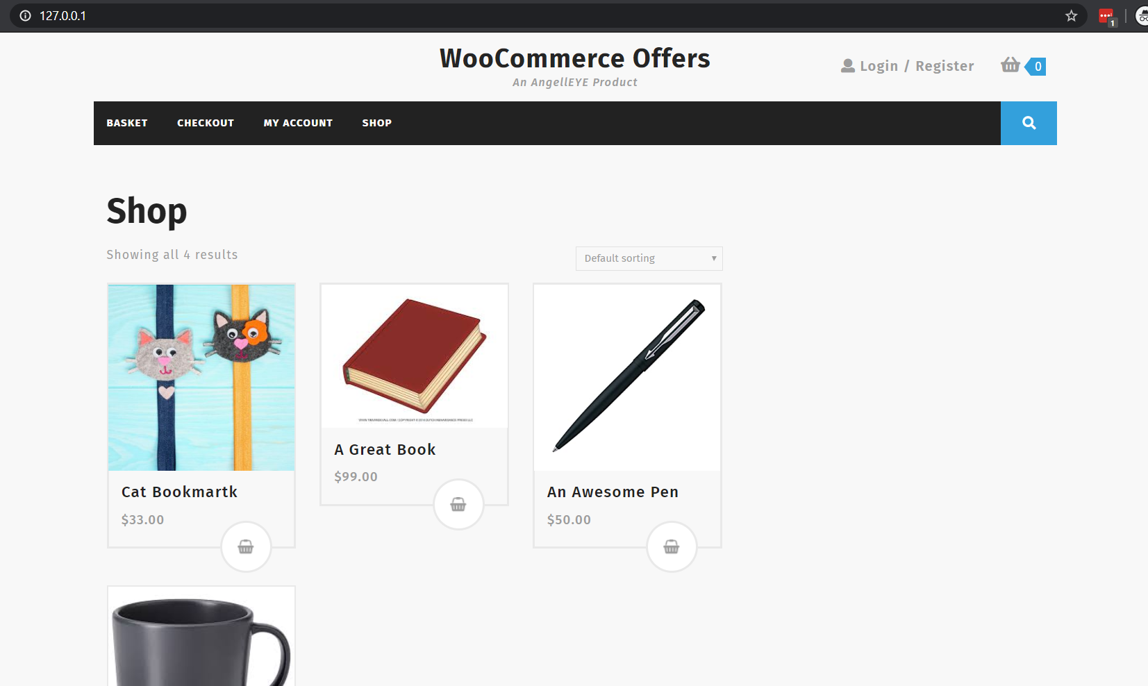 Example WooCommerce Shop