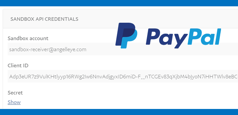 How to Find PayPal API Credentials