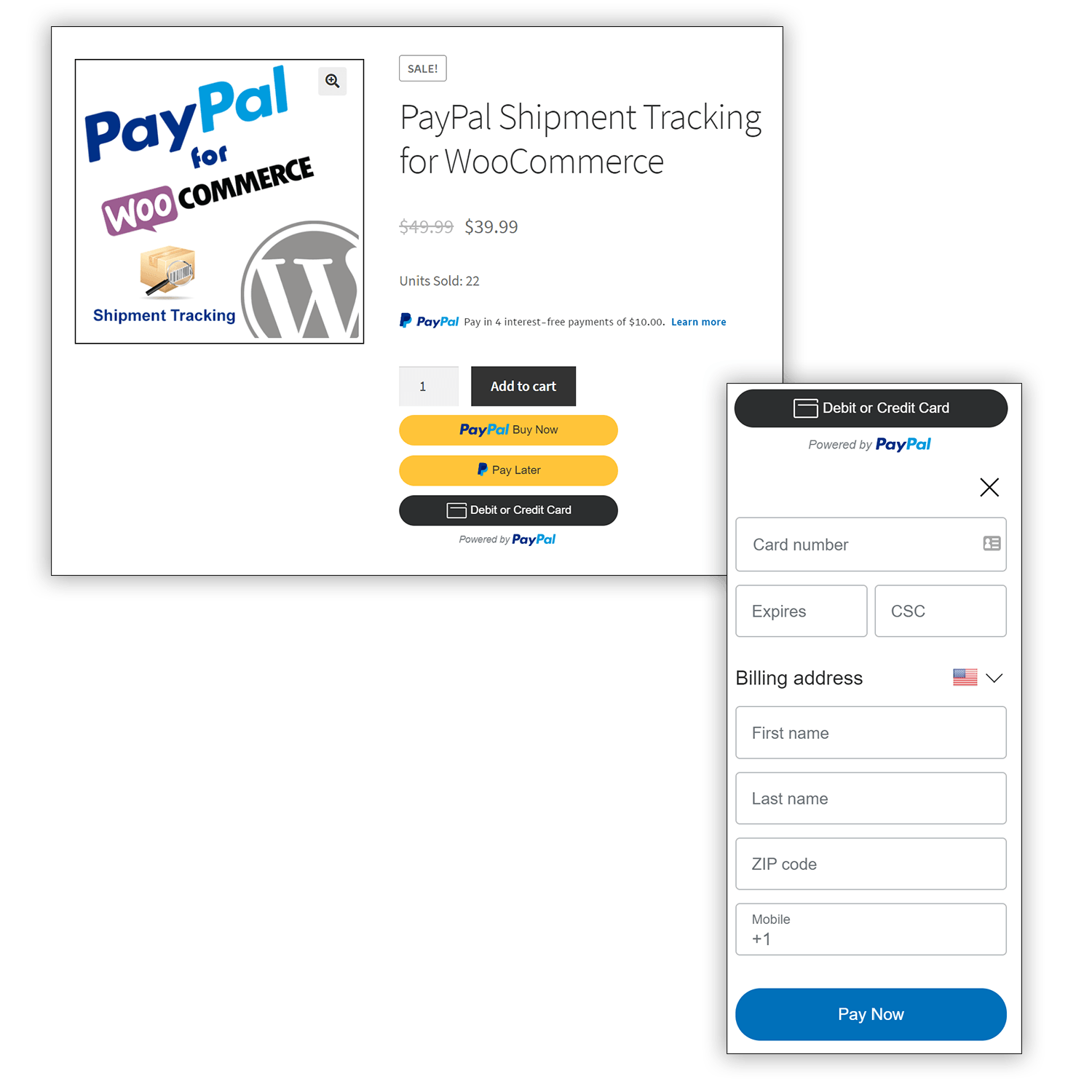 PayPal Express Checkout Guest Credit Card Payment